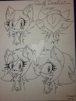 Quill doodles... by Sonar15