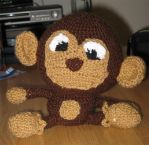 Crochet monkey by Little-Vampire