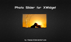 Photo Slider for XWidget by Kamaz-Z
