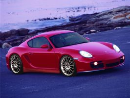 Porsche Cayman S by AladineSalame