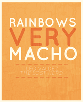 Rainbows. Very Macho! by neeann