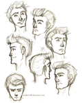 Kae expression sketches by blindbandit5