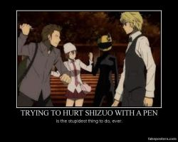 How not to hurt Shizuo by the-PKMN-trainer