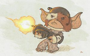 Colonial Mogwai by Too-Much-Bowser