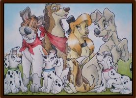 Disney's Dogs by MichelleWalker