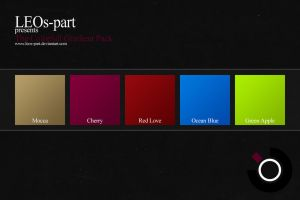 5 Colourfull Gradients by LEOs-stock