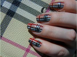 Burberry Nails by Jesi00
