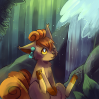 Forest Water by Cherkivi