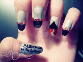 SWS nails by RooRhapsody