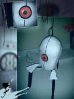 Portal Turret Plush by xXMoonlightOwlXx