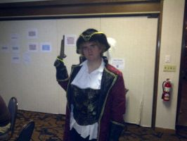 Pirate England Cosplay by JazzChyk