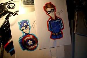 Captain America Bucky Bookmark by pr1030-piratesoul