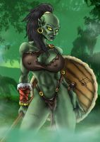 Orc maiden colors by EgilSterkr