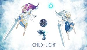 Child of Light - Auroras by Rousteinire