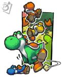 Three and one Yoshi by Imson