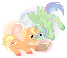 My Little Commissions - Honour Roll and Backstage by ImmortalTanuki