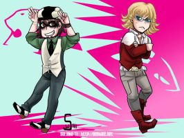 Tiger and Bunny by sw