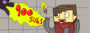 900 sub art request thingy by JoeliusAspect