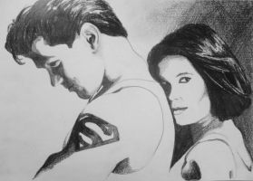 Lois and Clark by ArtLucie