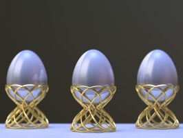Egg Cup 3D Print on Shapeways by nic022