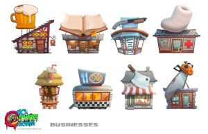 NZA! Businesses 2 by petura