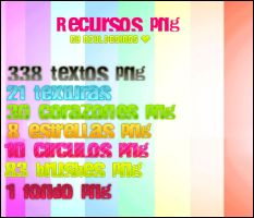 Super Pack De Recursos !! by AzulDesings