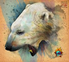 polar bear by Pioneer-Art