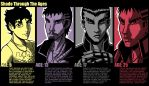 Shado Through the Ages by SHADOBOXXER