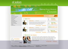 Al Salam Finance by U-Dexin by webgraphix