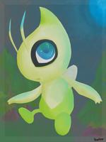 Celebi by ForgetfulShadow