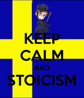Keep Calm And Stoicism by Jini-sama