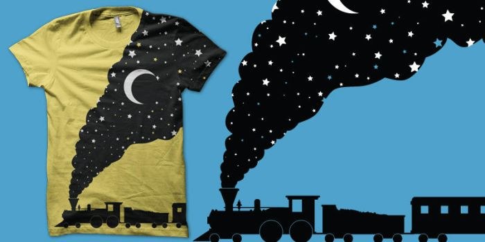 the night train shirt by biotwist