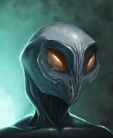 Alien Dude by josea302