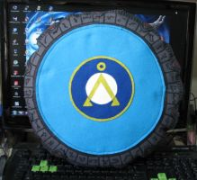Stargate Pillow by dragaodepapel