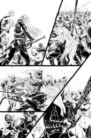 Elric - The Balance Lost 1-17 by francesco-biagini