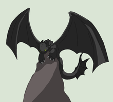 HTTYD Base 13~Nightfury 11~ by Xbox-DS-Gameboy