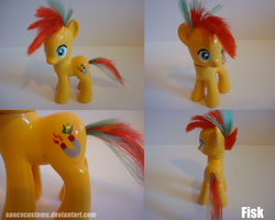 Fisk - Custom Pony by saucycustoms