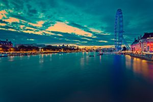 London Eye by hessbeck-fotografix