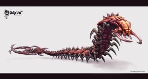 Alien Centipede by raoxcrew