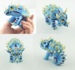 Direhorn Hatchling by claymeeples