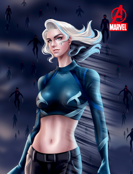 Avengers 2: QuickSilver by aerith0808