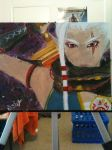 Impa Painting by Darkwolf567