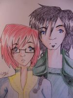 Fallout 3-Calico and Stryker by Chibi-Angelwolf-chan