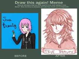 Draw This Again Meme by pekingchicken