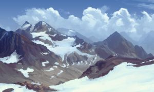 Mountain Study by cubehero
