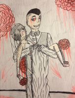 :G: Bloody Wedding by GlassFeline