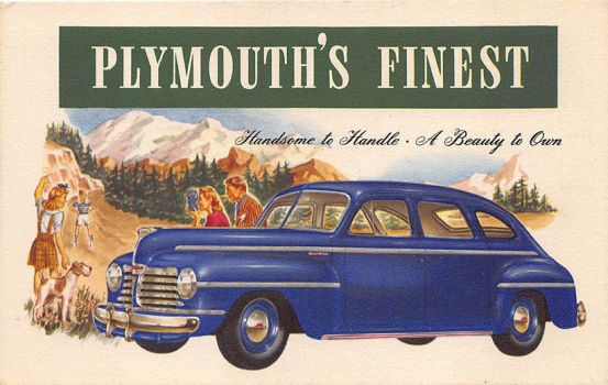 Plymouth's Finest for 1942 by Yesterdays-Paper
