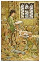 Comfort in Quilting by 3-hares