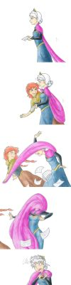 Spin the Cape Heroine right round by Jalohauki