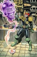 Dredd Vs. Death by westonfront
